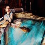 Šaty à la maliarske plátno