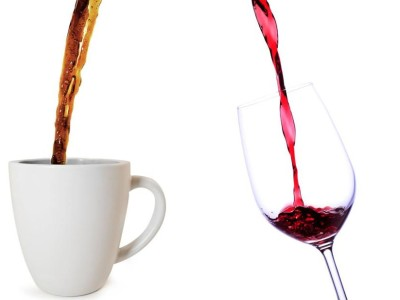 Káva a víno v jednom