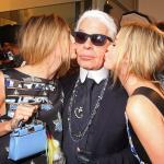 Utajovaná sestra Karla Lagerfelda