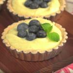 Lahodný maslový koláč s čučoriedkami