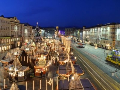 Čarovný advent v Linzi na Dunaji