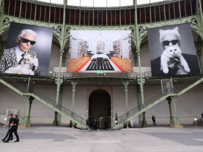 Karl Forever: Pocta Lagerfeldovi