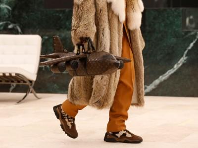 """""""Lietadlová kabelka"""" Louis Vuitton"""