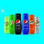 Litre osvieženia na počkanie: To sú príchute SodaStream & Pepsi